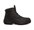 34-634P Ankle Height Lace Up Boot, Water Resistant Full Grain Leather, Padded  Comfort Collar, Fully Lined, Steel Midsole Protection
