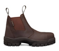 Elastic Sided Boot, Water Resistant Full Grain Leather