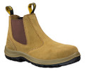 34-624 Oliver Elastic Sided Beige Safety Boot