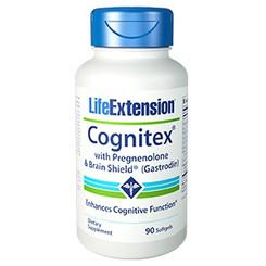 Cognitex® with Pregnenolone & Brain Shield™ (Gastrodin), 90 softgels