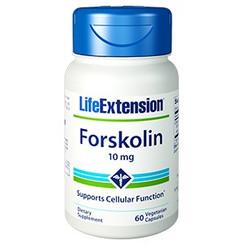 Forskolin 10 Mg, 60 Capsules