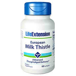 European Milk Thistle, 60 softgels