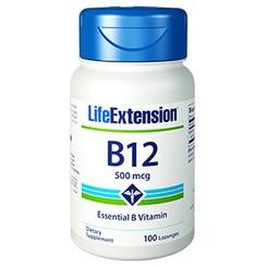 Vitamin B12, 500 mcg 100 lozenges