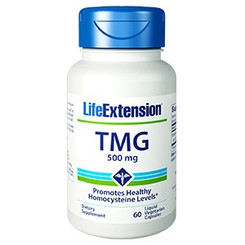 TMG, 500 mg 60 liquid vegetarian capsules