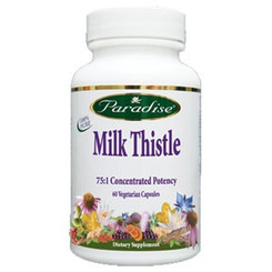 Milk Thistle, 60 vegetarian capsules