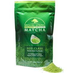 Midori Spring Organic Culinary Grade Matcha - ECO Class - Green Tea Powder From Japan 100g