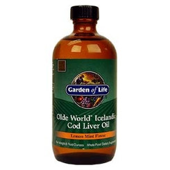 Olde World® Icelandic Cod Liver Oil, 8 fl oz (235 ml)