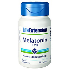 Melatonin 1 mg, 60 capsules
