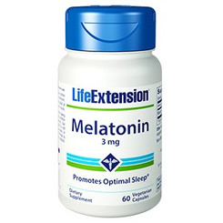 Melatonin 3 mg, 60 vegetarian capsules