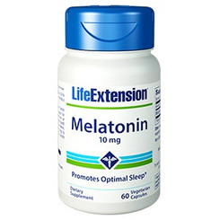 Melatonin 10 mg, 60 vegetarian capsules
