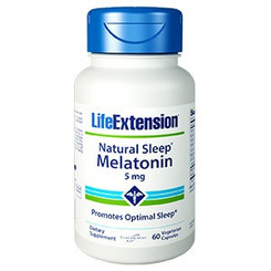 Natural Sleep® Melatonin 5 mg, 60 vegetarian capsules