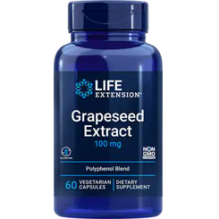 Grapeseed Extract 100mg, 60 vegetarian capsules