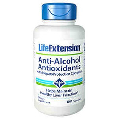 Anti-Alcohol Antioxidants with HepatoProtection Complex, 100 capsules