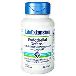 Endothelial Defense™ with Full-Spectrum Pomegranate™ and CORDIART™, 60 softgels