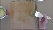 When gluing wood veneer with contact cement, use 2 coats on each surface