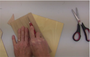 Wood Veneers Can Be Cut With A Razor Knife Or A Scissors