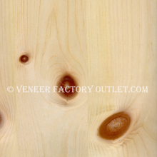 Knotty Pine Veneer Sheets.  Knotty Pine Veneer Factory Outlet.com