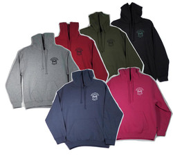 Hooded Pull-over Sweatshirts in 6 Colors