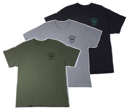 Men's Cotton Tee Shirts in 3 Colors