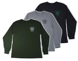 Men's Long Sleeve Tees in 3 Colors