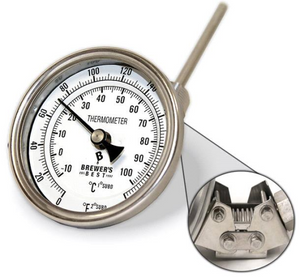 Brewer's Best Adjustable Kettle Thermometer