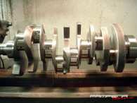 Pampena Motorsports Custom Billet Crankshaft