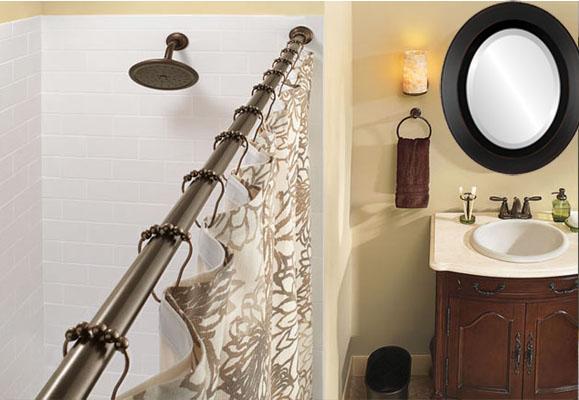 New Color To Match Bronze Fixtures InLine Ovals - Bathroom colors with bronze fixtures