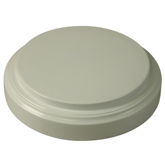 Glass Dome and Base - #905 - Linen White Base