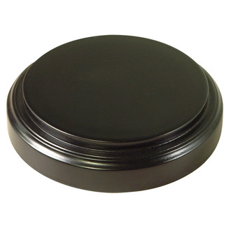 Glass Dome and Base - #905 - Matte Black Base
