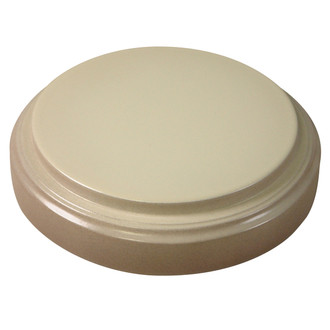 #905 Glass Dome and Base - Taupe Base