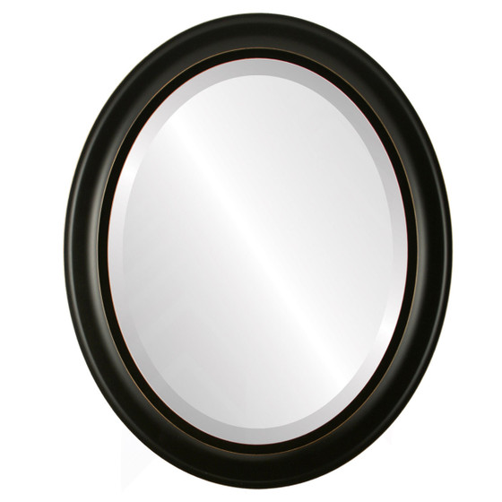 Display Model Oval Frame   Series 871 Rubbed Black