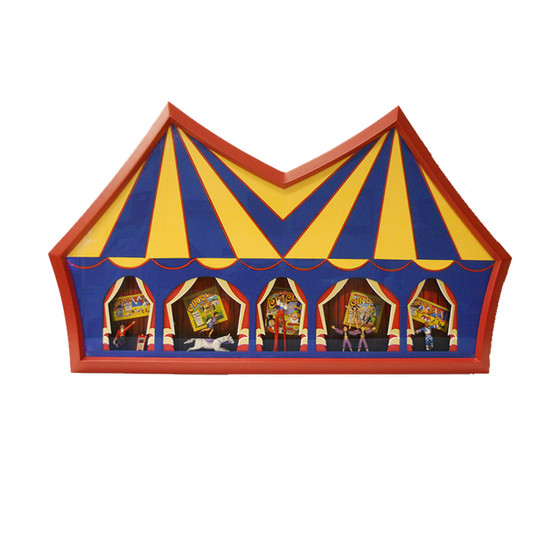 Circus Picture Frame - InLine Ovals