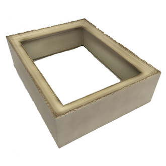 #401 Rectangle Shadowbox in Taupe