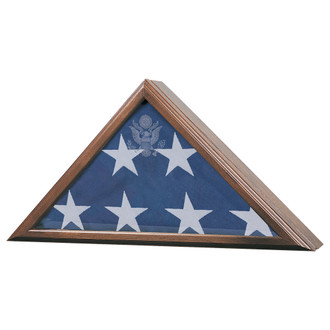 Honors Flag Case #371 - Front View