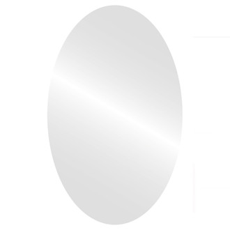 Oval Mirror-Flat Non Beveled