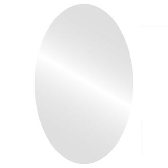 Oval Mirror-Flat Non Beveled