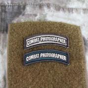 Combat Photographer Shoulder Tab Patch