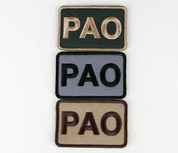 PAO (Public Affairs Officer) Patch
