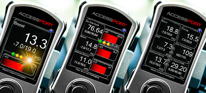 Cobb AccessPort V3 Multi gauges