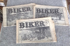 Biker Newspaper Magazines, 1978   (June 14, Sept 20, Oct 18)