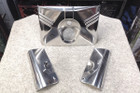Harley Heritage Softail/Fat Boy Fork Tins  (OEM Stainless Steel, 1986-Later)