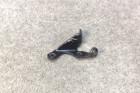 Harley FL/FX Shovelhead Clutch Cable Bracket, Black  (OEM, 1965-E79)