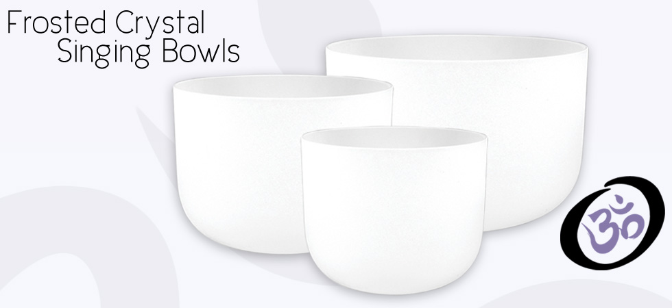 Fristed Crystal Singing Bowls