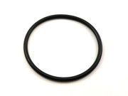 Black Rubber Base Ring for Crystal Bowls 4.25""