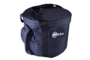 LARGE BLACK DELUXE CRYSTAL VIBES SINGING BOWL CARRYING CASE 13-16""