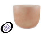 "10"" Empyrean Coral Quartz Crystal Singing Bowl"