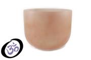"10"" Empyrean Coral Quartz Crystal Singing Bowl"