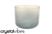 "6"" Translucent Blue Tourmaline Fusion Crystal Singing Bowl"