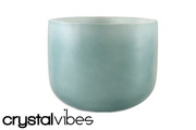 "11"" Empyrean Blue Tourmaline  Crystal Singing Bowl"