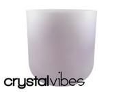 "8"" Opaque Lepidolite Crystal Singing Bowl"